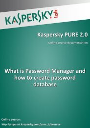 What is Password Manager and how to create password database