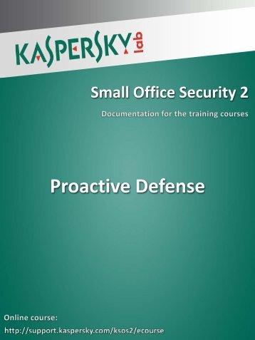 Proactive Defense - Kaspersky Lab