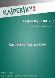 Kaspersky Rescue Disk - Kaspersky Lab