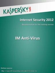 IM Anti-Virus - Kaspersky Lab