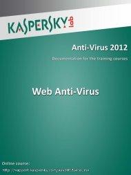 Web Anti-Virus - Kaspersky Lab