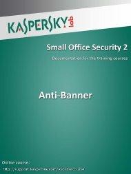 Anti-Banner - Kaspersky Lab