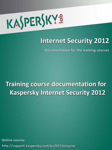 Internet Security 2012 - Kaspersky Lab