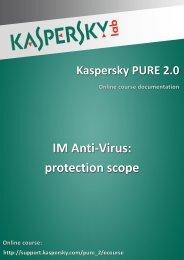 IM Anti-Virus: protection scope