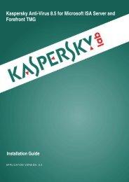 Deployment Guide - Kaspersky Lab