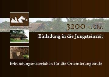 Unterrichtsbegleitheft Warder Jungsteinzeit ob - Arche Warder