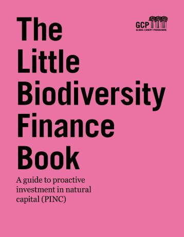 the Little Biodiversity Finance Book - Advanced Conservation ...