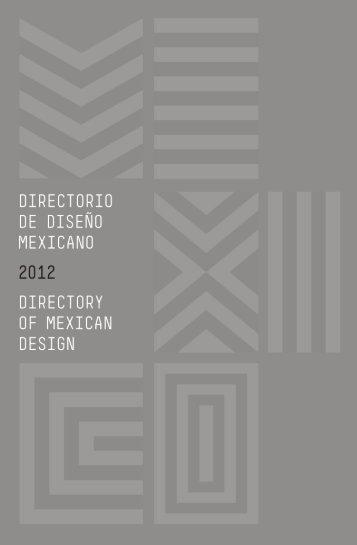 Directorio de Diseño Mexicano - Centro