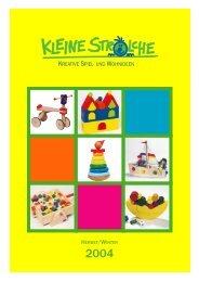 Kleine Strolche Katalog 2004/2005 (Web) - Kleine Strolche Website