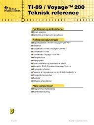 Teknisk reference - Horsens HF og VUC