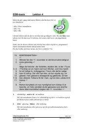 EDB-basis Lektion 4 - Horsens HF og VUC