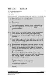 EDB-basis Lektion 5 - Horsens HF og VUC