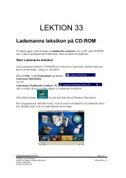 Lademanns leksikon på CD-ROM - Horsens HF og VUC