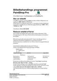Billedbehandlings programmet PaintShop Pro - Horsens HF og VUC
