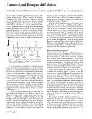 Femtosekund Røntgen-diffraktion - Horsens HF og VUC