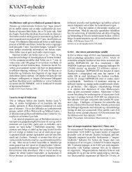 KVANT-nyheder - Horsens HF og VUC