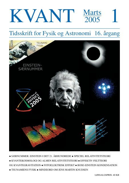 Tidsskrift for Fysik og Astronomi 16. ˚argang - Horsens HF og VUC