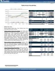 Dienos akcijų rinkų apžvalga 2009 01 19