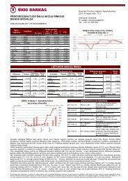Prekybos Baltijos šalių akcijų rinkose liepos 8 d. apžvalga