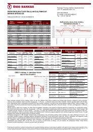 Prekybos Baltijos šalių akcijų rinkose balandžio 5 d. apžvalga