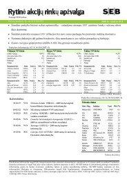 Rytinė akcijų rinkų apžvalga, 02 19
