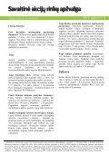 Savaitinė akcijų rinkų apžvalga, 08 17 - Verslo naujienos - Page 4