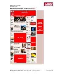 Reklamos pozicijos verslo naujienų portale vz.lt - Verslo žinios