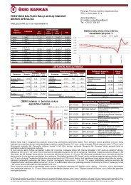 Prekybos Baltijos šalių akcijų rinkose kovo 18 d. apžvalga