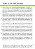 Rytinė akcijų rinkų apžvalga, 04 23 - Page 2