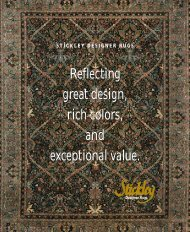 Reflecting great design, rich colors, and exceptional value ...