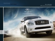 2011 Infiniti QX56 | Brochure | Infiniti USA