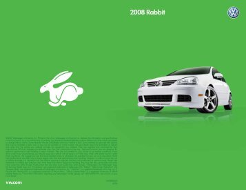 2008 Rabbit - Volkswagen of America