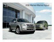2010 Mariner+Mariner Hybrid