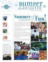 Scott-McRae Group | Bumper to Bumper Newsletter (Fall 08)