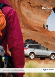 Subaru Outback - Steele Auto Group