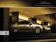 2004 Infiniti M45 e-Brochure
