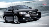 Proof that luxury comes in all sizes. Introducing the 2007 Audi A3.