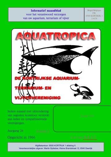 Aquatropica's tijdschrift januari 2011 - Vaders Sellewie