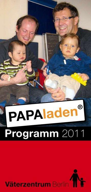 Programmheft 2011 - Väterzentrum Berlin
