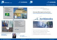 Energiemanagementsysteme nach DIN EN ISO 50001