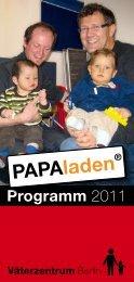 Programm 2011 - Väterzentrum Berlin