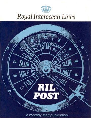Royal Interocean Lines - Varen Is Fijner