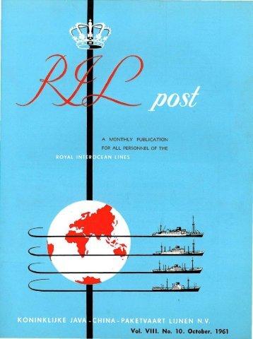 Vol. VIII. No. 10. October, 1961 - Varen Is Fijner