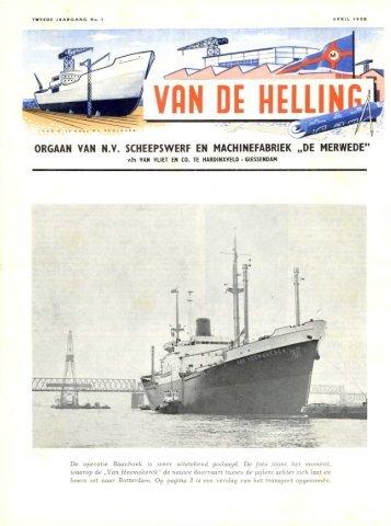 uitgave april 1958 - Varen Is Fijner