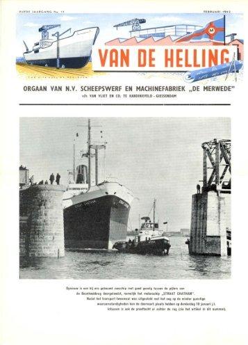 uitgave februari 1962 - Varen Is Fijner
