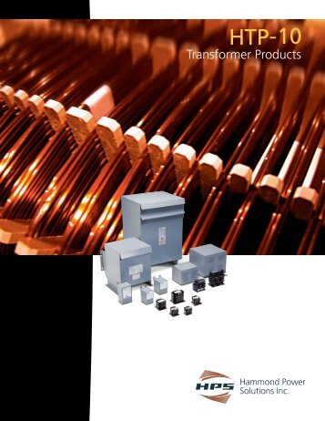 to download the HPS Transformer Products Catalog.