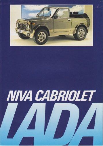 Lada Niva Cabriolet - veeDUB