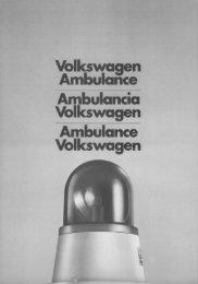 Volkswagen Ambulance Ambulancia Volkswagen ... - veeDUB