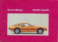 Owner's Manual - veeDUB