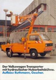 Der Volkswagen Transporter mit hydraulischer ... - veeDUB